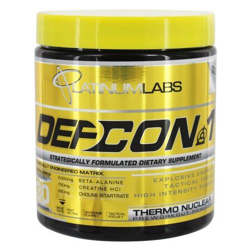 Platinum Labs - DefCon 1 Thermonuclear Preworkout Powder Pineapple - 7.7 oz.