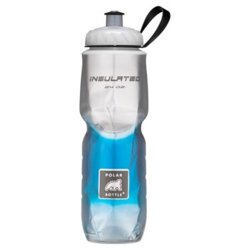 Polar 24oz Insulated Water Bottle - Blue/Silver
