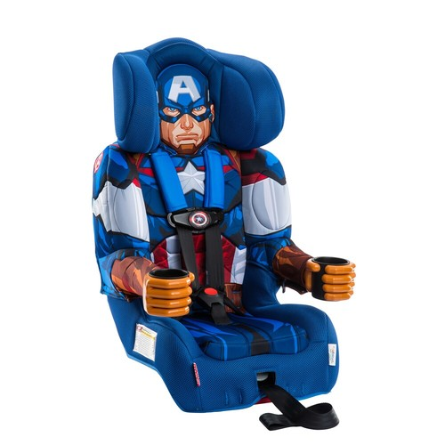 KidsEmbrace Friendship Combination Booster Car Seat - Marvel Captain America