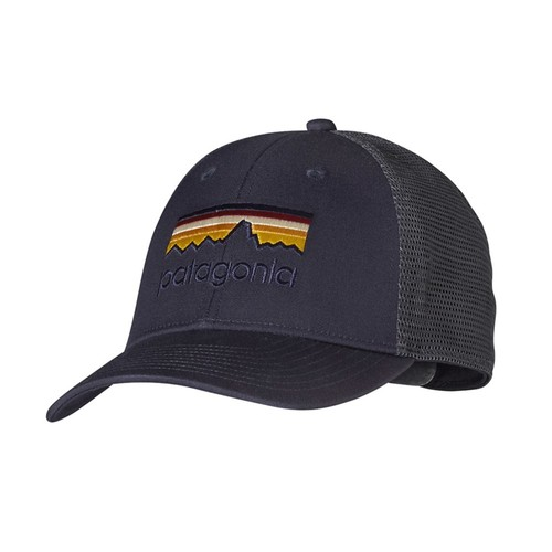 Men's Patagonia Line Logo LoPro Trucker Hat
