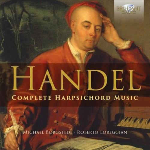 Michael Borgstede - Handel: Complete Harpsichord Music