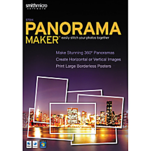 PanoramaMaker, For PC/Mac, Traditional Disc