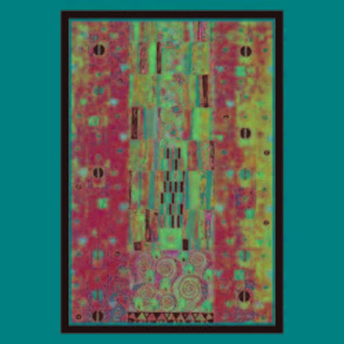 Gustav Klimt 'Frieze' Canvas Art