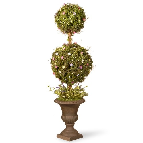 Spring Topiary Tree with Two Balls (45