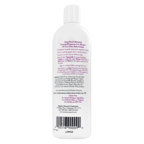 Stony Brook Shampoo, Unscented, 16 Fl Oz