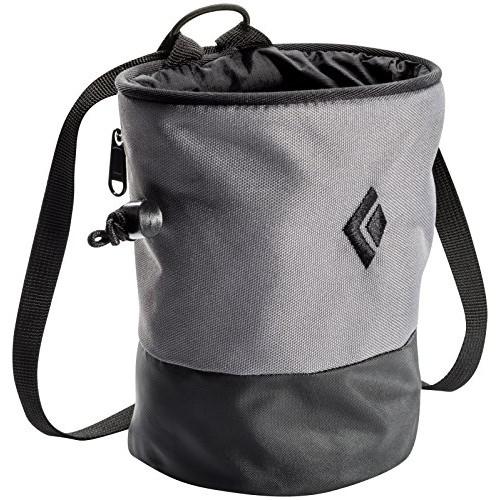 Black Diamond Mojo Zip Chalk Bag [Ash, Small/Medium]