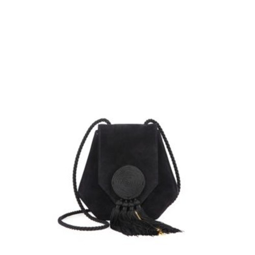 SAINT LAURENT Opium 3 Calfskin & Suede Crossbody Bag