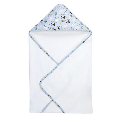 Trend Lab Hooded Towel, Baby Barnyard