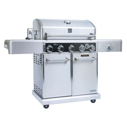 Kenmore Elite 5 Burner Gas Grill with Rotisserie Kit - PG40506SR
