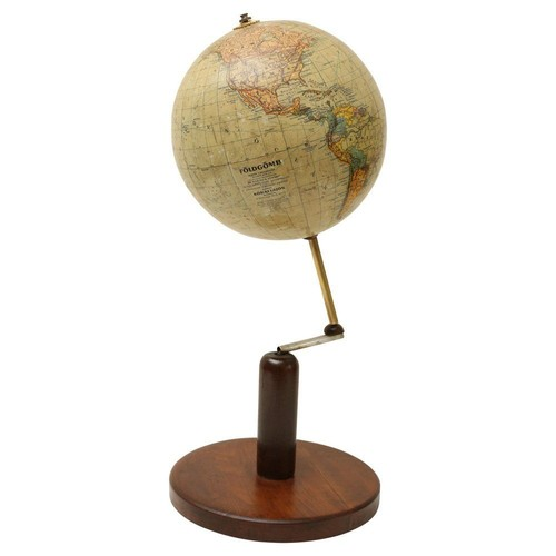 Continental World Globe on Stand