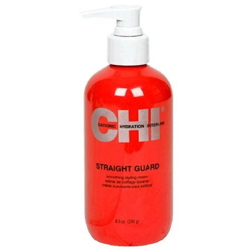 CHI Catonic Hydration Interlink Straight Guard Smoothing Styling Cream, 8.5 Ounce (200 g)