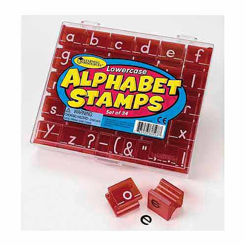 Learning Resources Lowercase Alphabet Stamps