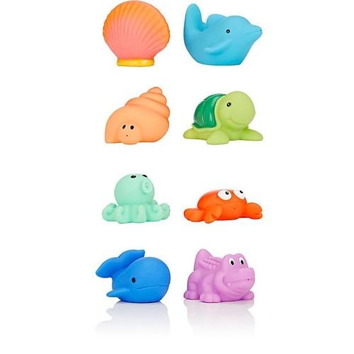 Elegant Baby Sea Party Bath Squirties Toy Set