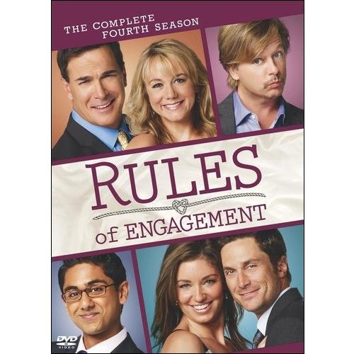 Rules of Engagement: The Complete Fourth Season [2 Discs] [DVD]