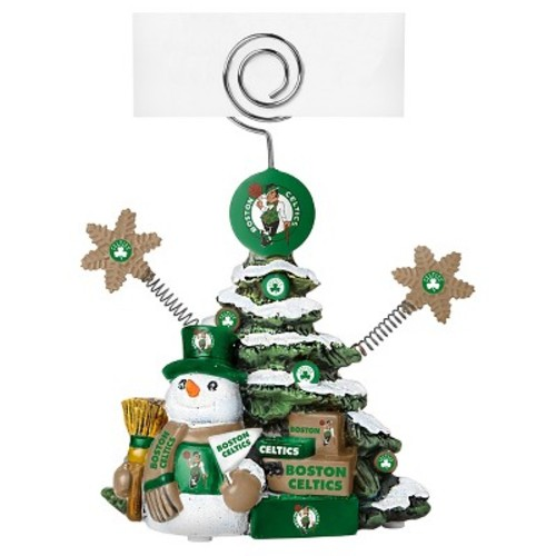 Boston Celtics Topperscot Holiday Sculpture
