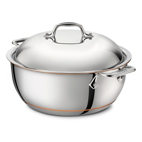 All-Clad Copper Core Dutch Oven with Lid - 5.5 qt.