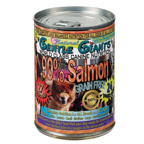 Gentle Giants Dog Food - Natural, Salmon