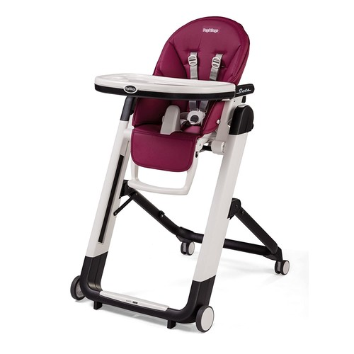 Peg Perego Siesta High Chair, Raspberry [Raspberry]