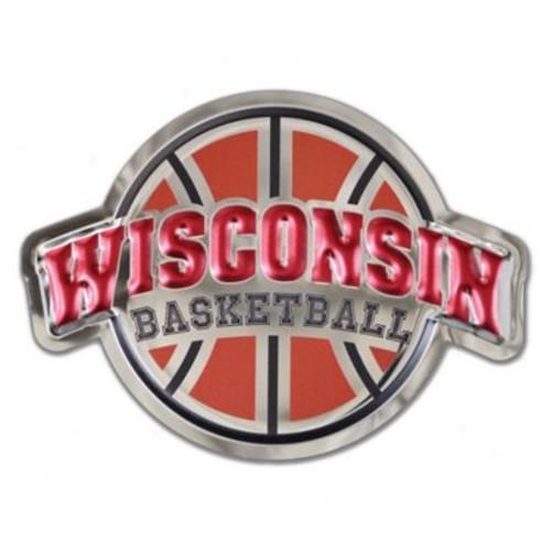 University of Wisconsin Badgers Basketball Logo Wall Art