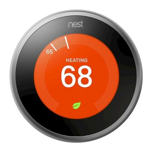 NEST LABS T3007ES Nest3rdLearn Thermostat Nest Learning Thermostat, 3rd Generation