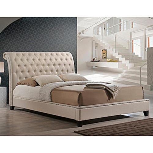 Baxton Studio Jazmin Upholstered Bed