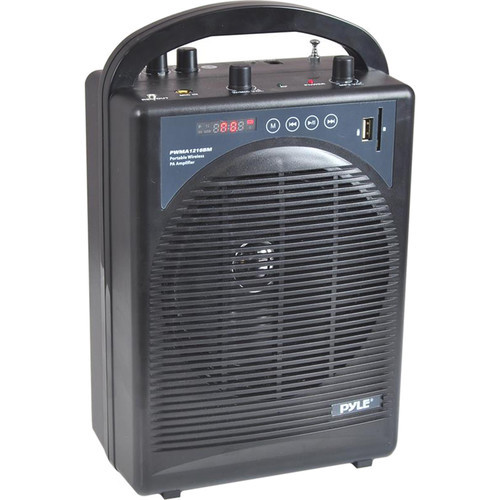 60W Portable Bluetooth PA Speaker, Amplifier, & Microphone System