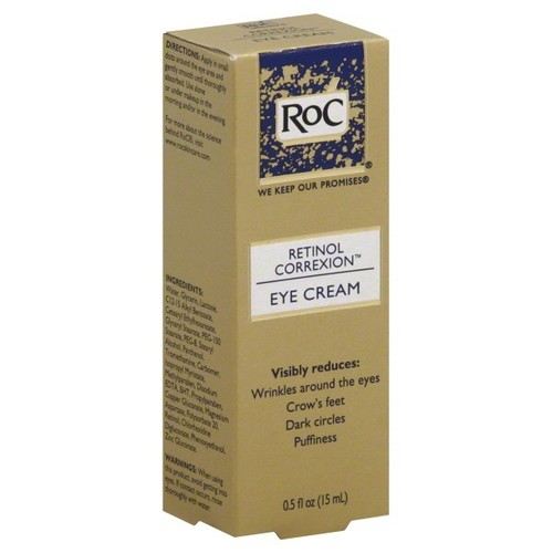 Roc retinol correxion eye cream, 0.5 Fl oz (15 ml)