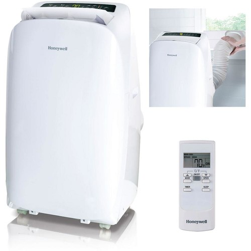 Honeywell HL Series 10,000 BTU Portable Air Conditioner with Dehumidifier and Remote Control - White/White
