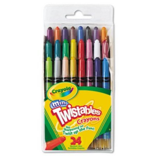 Crayola Mini Twistables Crayons (Set of 24)