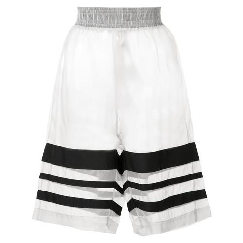CHRISTOPHER RAEBURN Organza Grosgrain Shorts