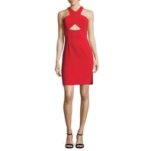 BCBGMAXAZRIA - Cocktail Halter Dress