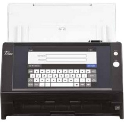 Fujitsu N7100 Sheetfed Scanner - 600 Dpi Optical - 24-bit Color - 8-bit Grayscale - 25 - 25 - Pc Free Scanning - Duplex Scanning (pa03706-b205)