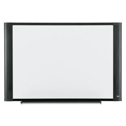 3M Melamine Dry Erase Board, 36 x 24, White, Graphite Frame