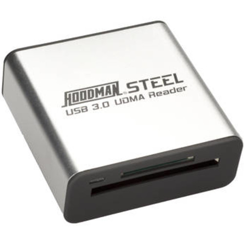 Steel USB 3.0 UDMA Card Reader