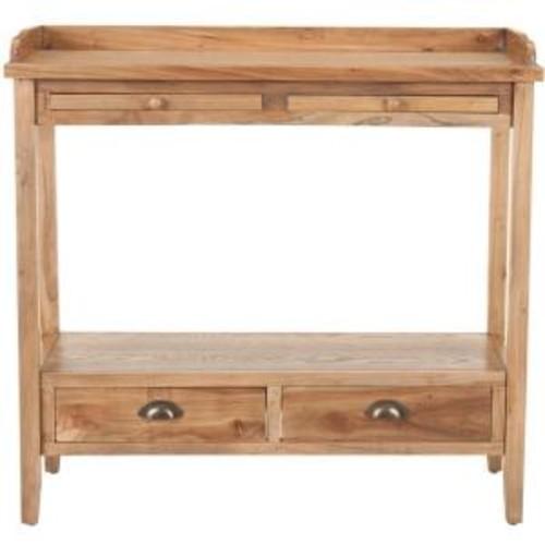 Safavieh Peter Oak Storage Console Table