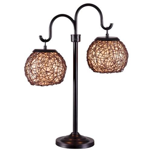 Kenroy Home 32245BRZ Castillo Outdoor Table Lamp