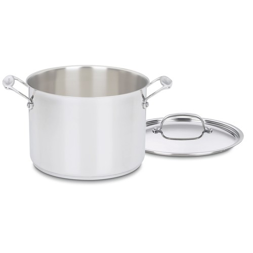 Cuisinart Chef's Classic Stainless Steel 8 qt. Stock Pot with Cover