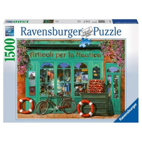 Ravensburger The Red Bicycle Jigsaw Puzzle - 1500-Piece
