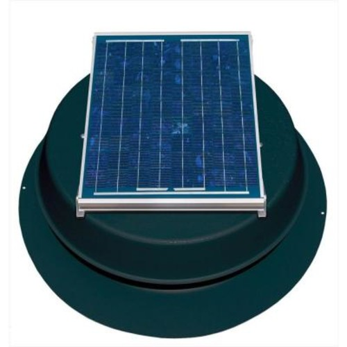 10 Watt Solar-Powered Attic Fan
