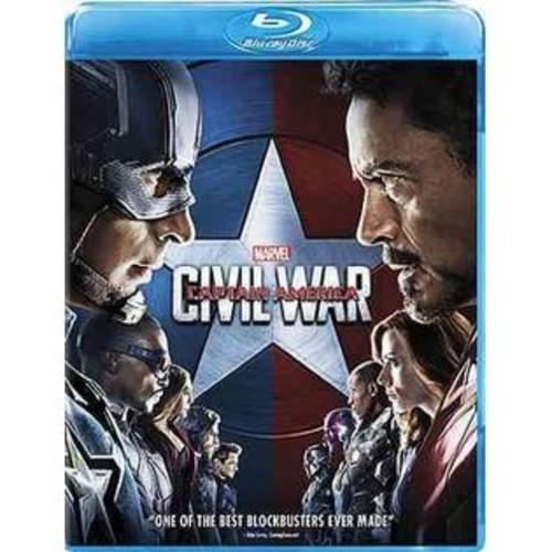 Buena Vista Captain America Civil War Blu-ray
