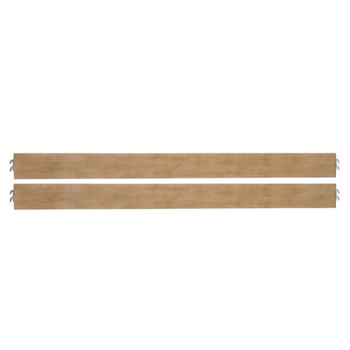 Evolur Universal Convertible Crib Wooden Full Size Bed Rail
