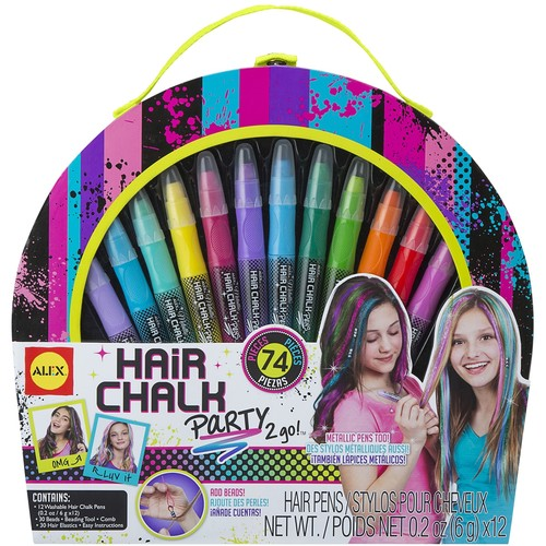 Hair Chalk Party 2 Go Kit