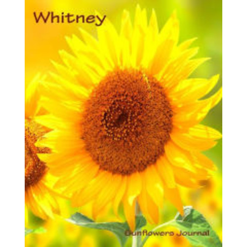 Sunflowers Journal - Whitney