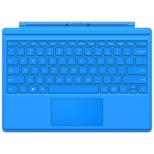 Microsoft Surface Pro 4 Type Cover, Bright Blue QC7-00002