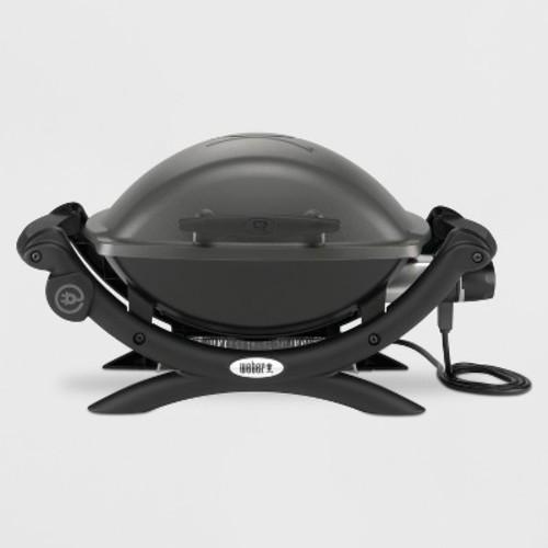 Weber Q 1400 Portable Electric Grill - Dark Gray 52020001