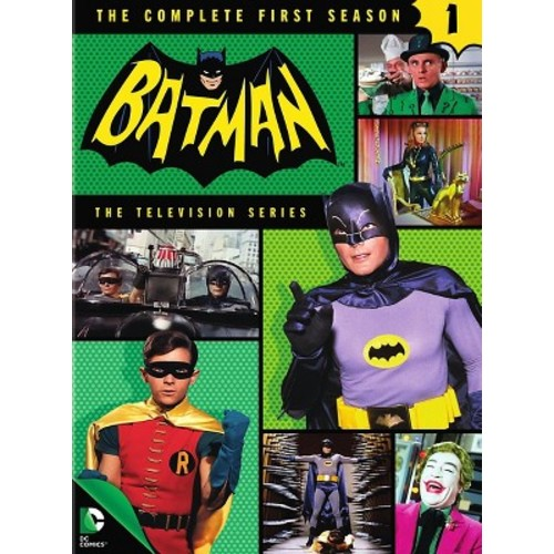 Batman: The Complete First Season (5 Discs) (dvd_video)
