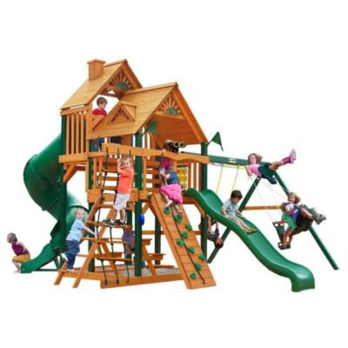 Gorilla Playsets Great Skye I with Timber Shield Cedar Playset