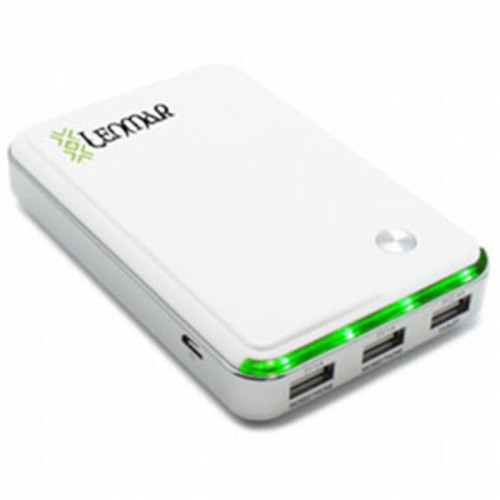 Lenmar Helix 11000mAh Portable Power Pack, White