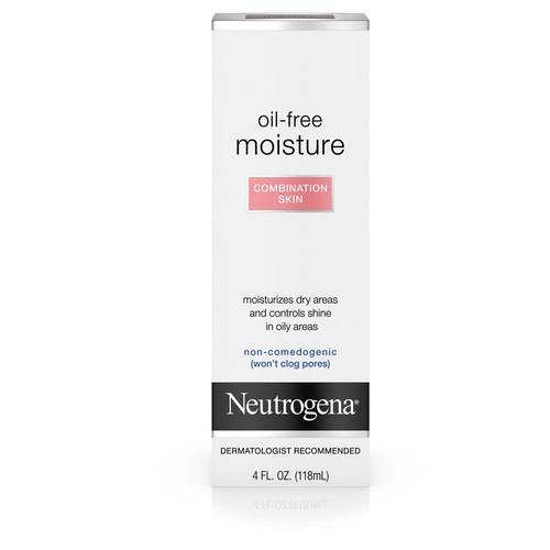 Neutrogena Moisture, Oil-Free, Combination Skin, 4 fl oz (118 ml)
