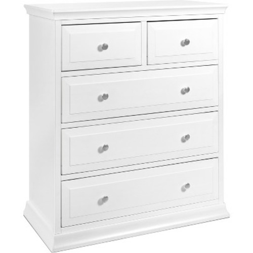 DaVinci Signature 4-Drawer Tall Dresser - White